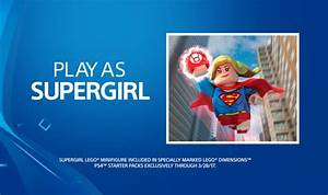 Supergirl Playstation 4 Starter Pack Bundle Available For