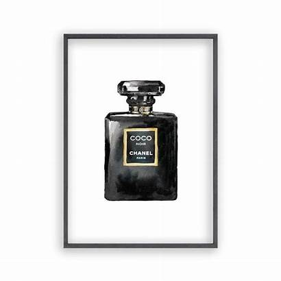 Chanel Perfume Bottle Coco Drawing Clipartmag Blim