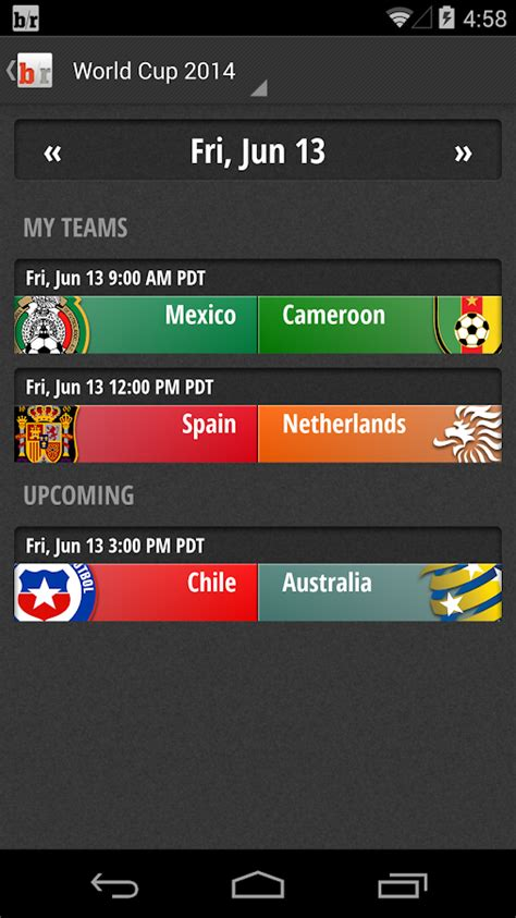 Team Stream By Bleacher Report  Android Apps On Google Play