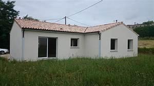 Maison Plain Pied En L : construction maison plain pied lorie maison de plain ~ Melissatoandfro.com Idées de Décoration