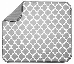 petit tapis schroeder tremayne pour secher la vaisselle With tapis pour égoutter la vaisselle