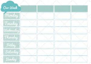 Free Printable Family Weekly Planner