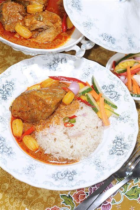 nasi dagang terengganu gulai ikan tongkol fish  seafood