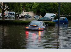 Porsche 0 Divers Porsche 911 991 overstroming Frankrijk
