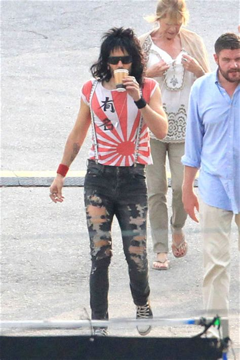 russell brand rock of ages russell brand pictures russell brand on the quot rock of