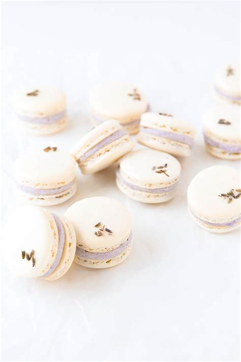 lavender coconut macarons broma bakery