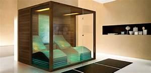 Sauna Für Badezimmer : glas sauna wellness zu hause ~ Lizthompson.info Haus und Dekorationen