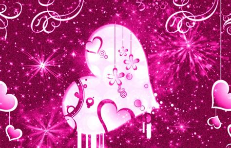 Pink Animated Wallpaper - pretty girly colorful wallpapers weneedfun