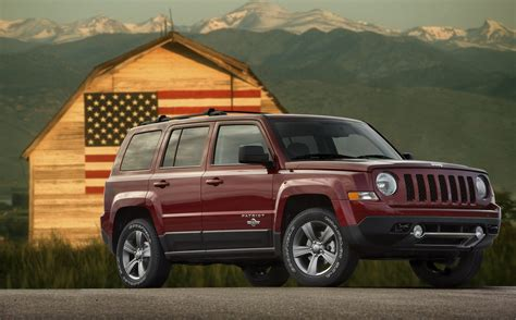 jeep patriot freedom edition top speed