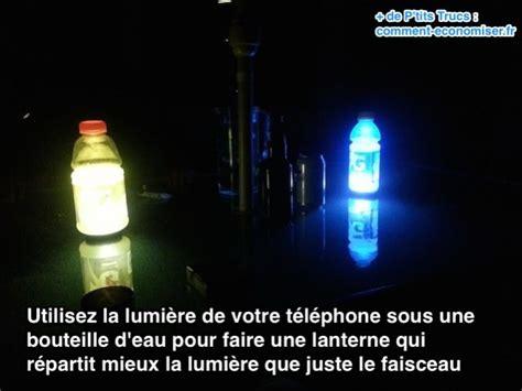 le de poche lumiere pas de lanterne pour le cing faites en une maison en 1 min chrono