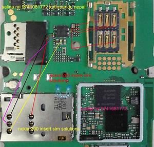 All Cellular Mobile Repair Solution  Nokia Asha 200 Insert
