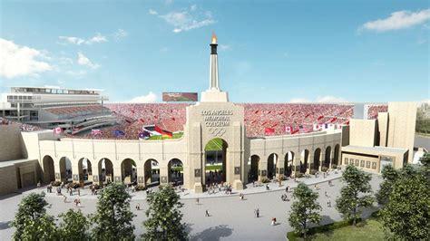 usc   give  coliseum   million restoration