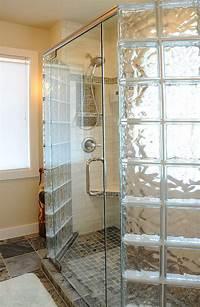 glass shower blocks Glass Block Shower Wall & Walk in Designs: Nationwide Supply & Columbus & Cleveland, Ohio ...