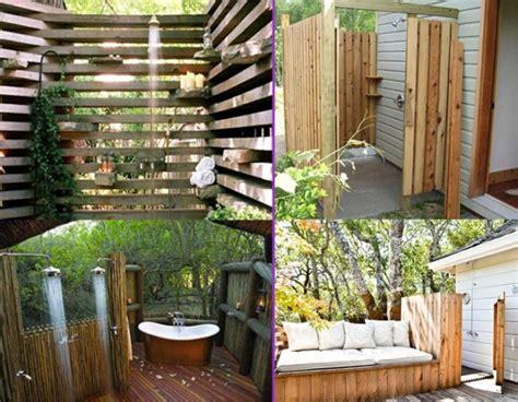 Outdoor Showers : 25 Fabulous Outdoor Shower Design Ideas
