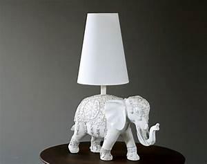Lampe à Clipser : lampe poser d co l phant becquet ~ Teatrodelosmanantiales.com Idées de Décoration