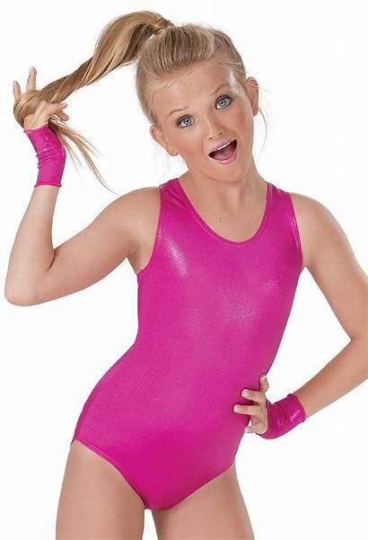 Leotard Spandex Metallic Leotards Dance Shiny Dancewear