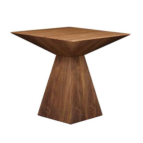Tad Modern Side Table   Walnut