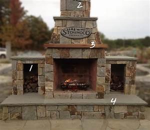 Outdoor Fireplaces - Stone Fireplace Kits Cape Cod MA