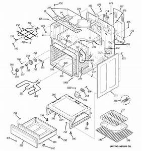 Ge Jbp68hk4bb Electric Range Parts