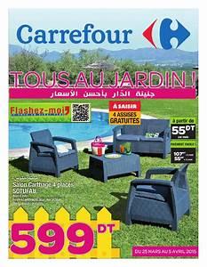 Meuble De Jardin Carrefour : catalogue carrefour tous au jardin by carrefour tunisie issuu ~ Teatrodelosmanantiales.com Idées de Décoration