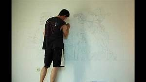 Bilder An Die Wand Hängen : the walking dead per raster bertragung an die wand malen youtube ~ Sanjose-hotels-ca.com Haus und Dekorationen