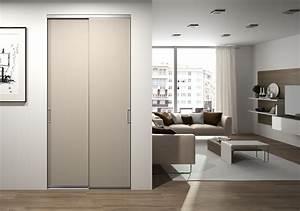 portes de placard coulissantes pour l39entree centimetrecom With porte d entrée alu avec miroir salle de bain avec rangement