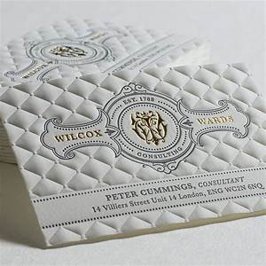 3d embossed business cards with gold foil and letterpress With business cards embossed lettering