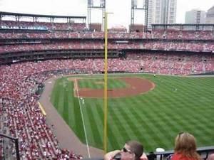 Busch Stadium Section 128 Home Of St Louis Cardinals