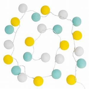 Guirlande Lumineuse Maison Du Monde : guirlande lumineuse tricolore 24 led limona maisons du monde ~ Teatrodelosmanantiales.com Idées de Décoration