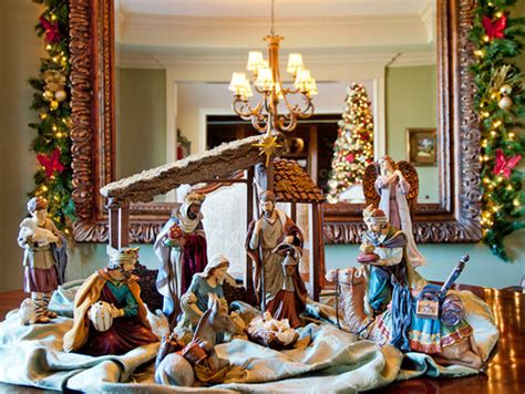 Decorating Ideas For Nativity by Decorations Celebration All About