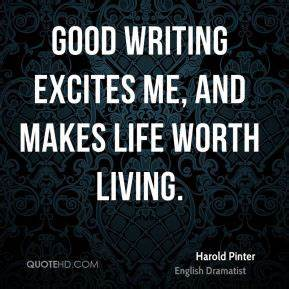 Harold Pinter Quotes | QuoteHD