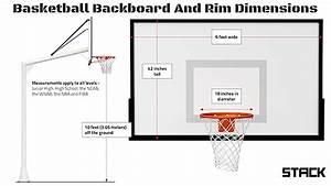 Nba Basketball Backboard Dimensions | www.pixshark.com ...