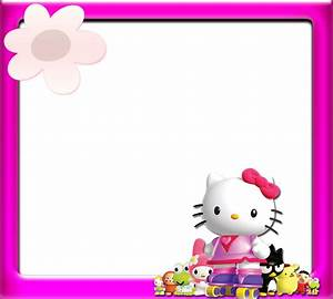 Hello Kitty: Borders, Images and Backgrounds Oh My