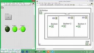 Labview Dersleri - Flat Sequence