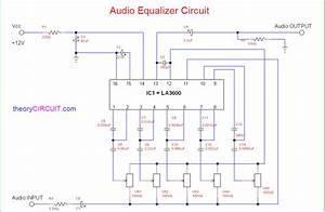7 Band Graphic Equalizer Circuit Diagram
