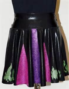 Maleficent Running Glitter Skirt