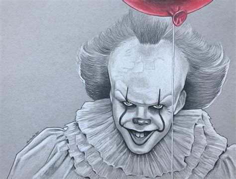 Pennywise 2017 By Marstonmac On Deviantart