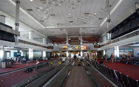 denver international airport interior editorial