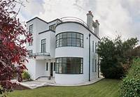 art deco homes Back on the market: Melville Aubin-designed Sunpark 1930s art deco property in Brixham, Devon ...