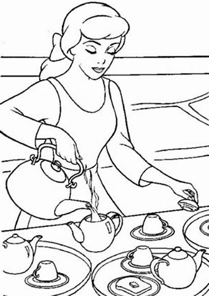 Cinderella Coloring Tulamama