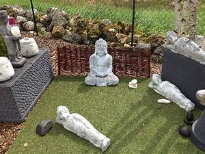 Statue Deco Jardin Exterieur : decoration jardin zen exterieur khenghua ~ Teatrodelosmanantiales.com Idées de Décoration