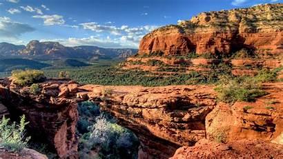 Arizona Sedona Wallpapers Bridge Devils States United