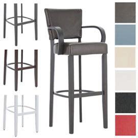 chaise de bar 4 pieds clp tabouret de bar en bois ethel chaise de bar 4 pieds