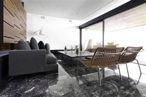 marble floor living room custom home design
