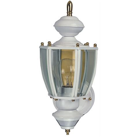 shop heath zenith 18 87 in h white motion activated