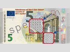 Der neue 5 Euro Schein mit Hakenkreuzen Schnanky