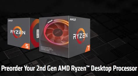 second generation ryzen cpus position amd to take on intel investorplace