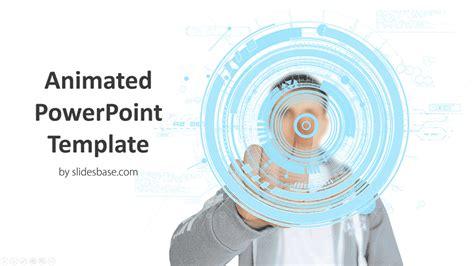 animated future technology powerpoint template slidesbase
