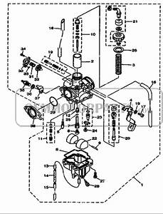 2005 Yamaha Ybr 125 Carburetor Diagram