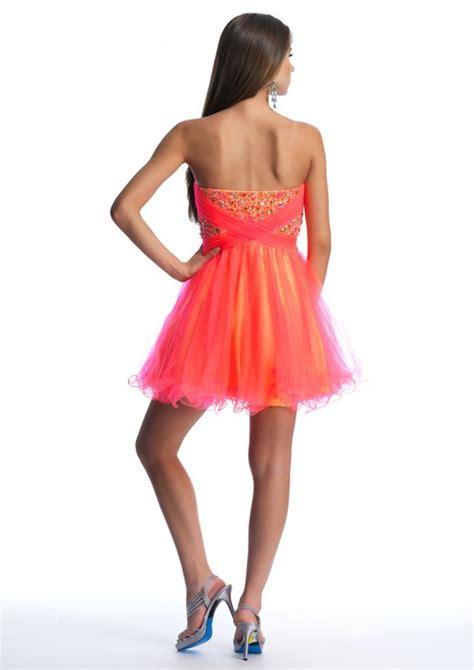 10392 Sukienka Krótka Evita
